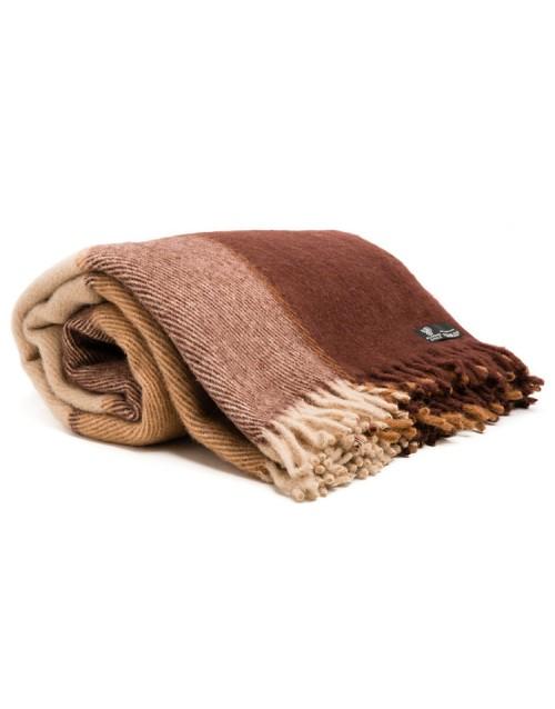 Throw, 100% new zealand wool, 170х210