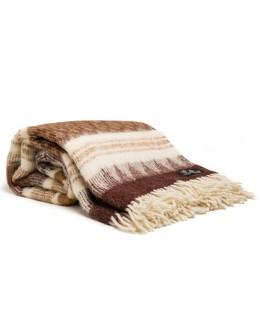 Throw, 40% alpaca, 60% new zealand wool, 140x205