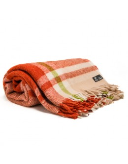 Throw, 100% new zealand wool, 140х205